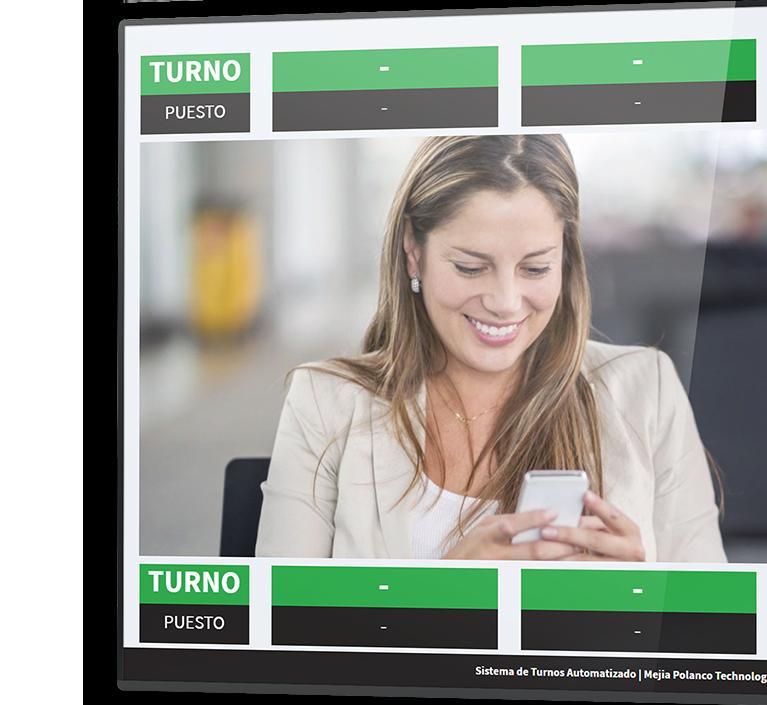 MPT | Mejía Polanco Technology Solutions, SRL | MPT - CUS | Sistema de Gestión de Turnos | Slider